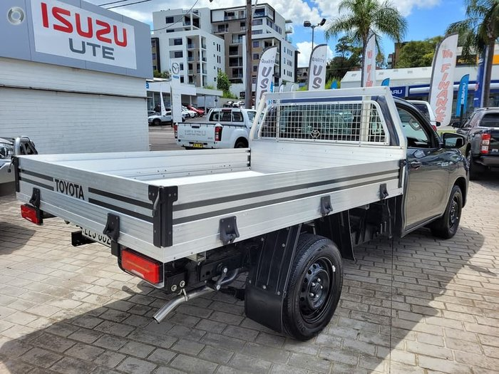 2019 Toyota Hilux Workmate TGN121R Grey