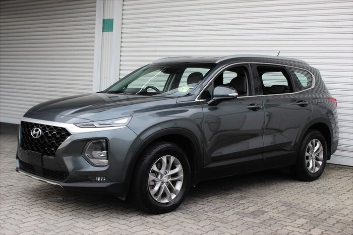 2018 Hyundai Santa Fe Active TM MY19 4X4 On Demand Grey