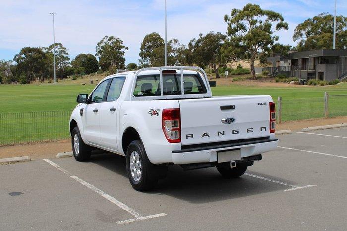 2017 Ford Ranger XLS PX MkII 4X4 Dual Range White
