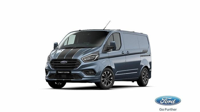2020 Ford Transit Custom 320S Sport VN MY19.75 Blue Metallic