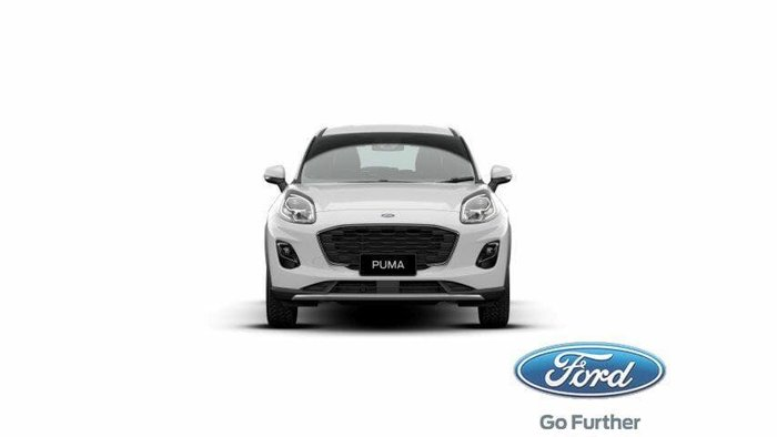2020 Ford Puma JK MY20.75 Frozen White