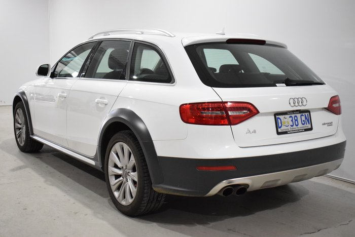2013 Audi A4 allroad B8 MY14 Four Wheel Drive White