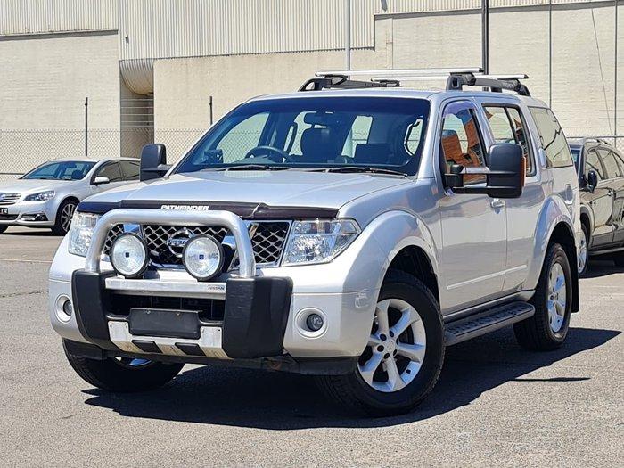 2010 Nissan Pathfinder Ti R51 MY08 4X4 Dual Range Silver