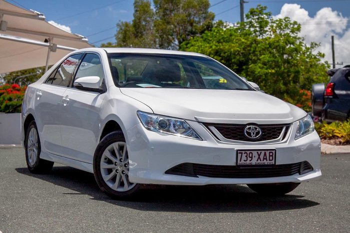 2012 Toyota Aurion AT-X GSV50R White