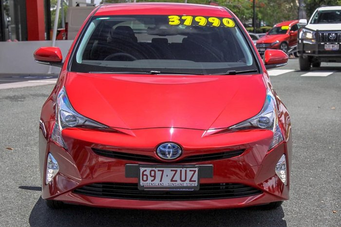 2017 Toyota Prius ZVW50R Red