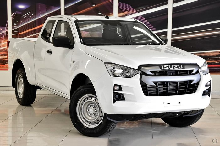 2020 Isuzu D-MAX SX High Ride MY21 White