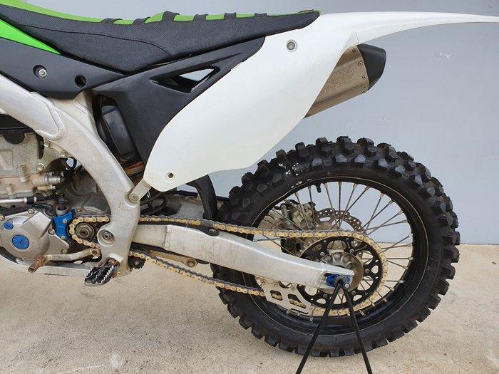 2014 Kawasaki KX450F Green