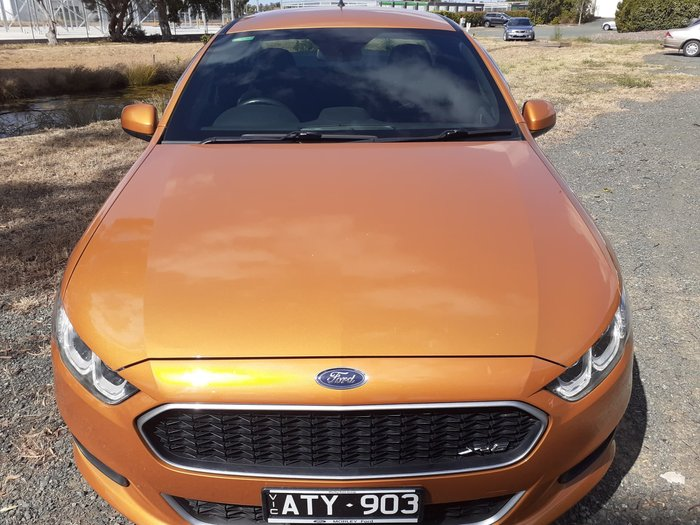 2015 Ford Falcon Ute XR6 FG X Victory Gold