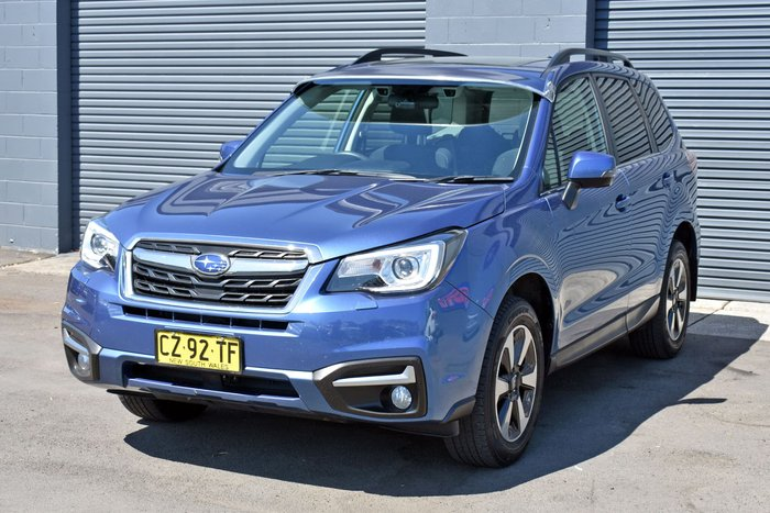 2017 Subaru Forester 2.5i-L Special Edition S4 MY17 Four Wheel Drive Quartz Blue