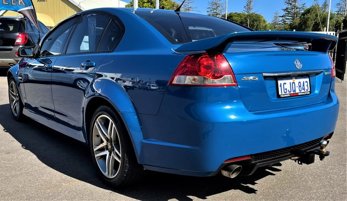 2012 Holden Commodore SV6 VE Series II MY12.5 Perfect Blue