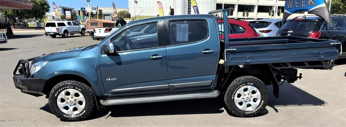 2013 Holden Colorado LTZ RG MY14 4X4 Dual Range Blue