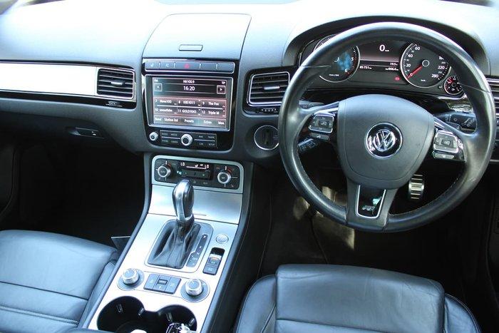 2016 Volkswagen Touareg V8 TDI R-Line 7P MY16 Four Wheel Drive Blue