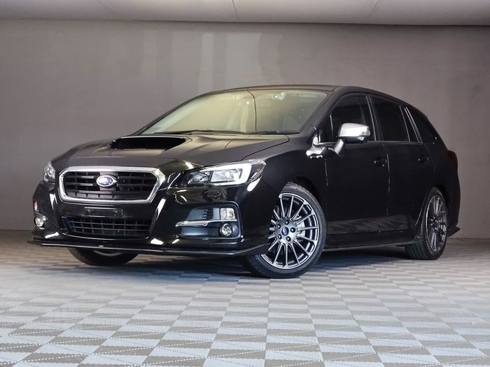 2017 Subaru Levorg 2.0 GT-S V1 MY17 Four Wheel Drive Black