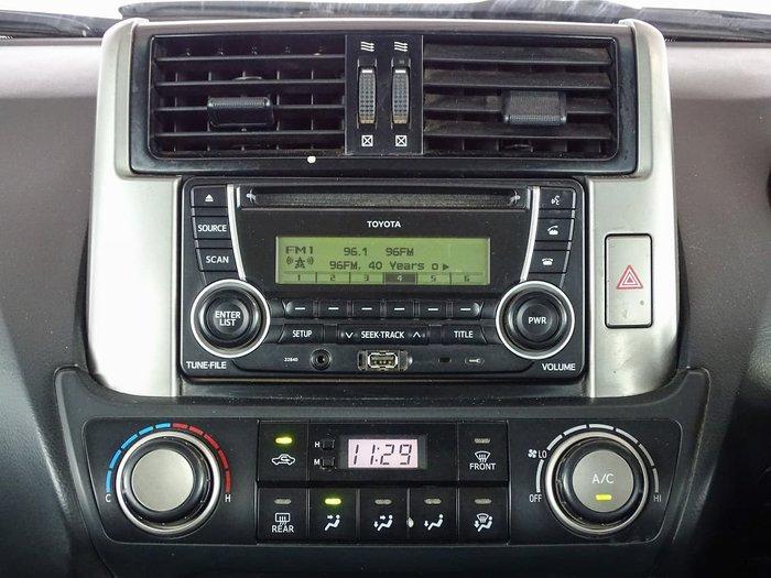 2011 Toyota Landcruiser Prado GX KDJ150R 4X4 Constant White