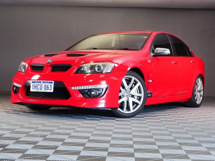 2010 Holden Special Vehicles Clubsport R8 20th Anniversary E Series 2 Red
