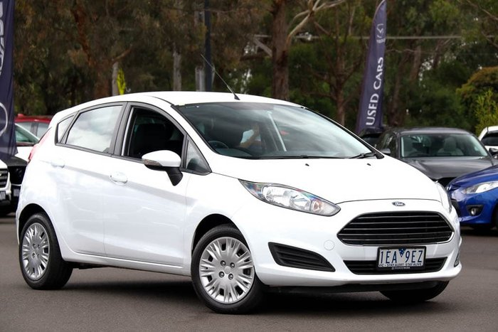 2014 Ford Fiesta Ambiente WZ Arctic White