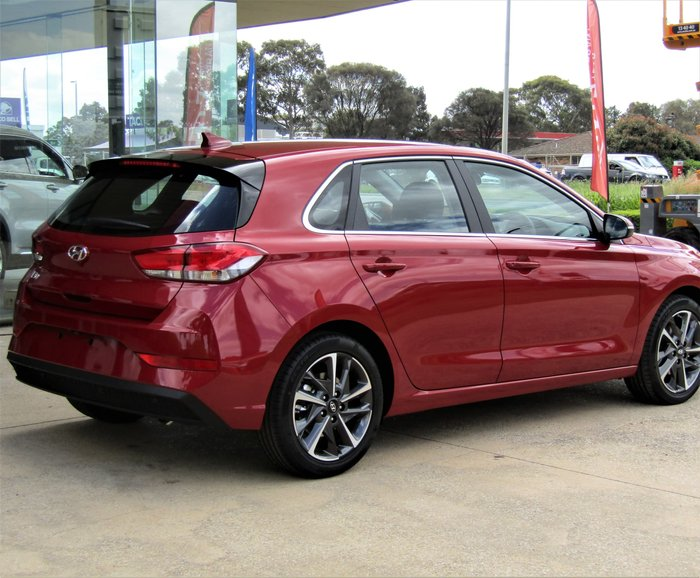 2020 Hyundai i30 Elite PD.V4 MY21 Fiery Red