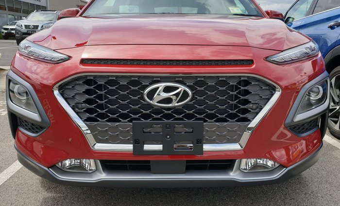 2019 Hyundai Kona Highlander OS.2 MY19 4X4 On Demand Pulse Red