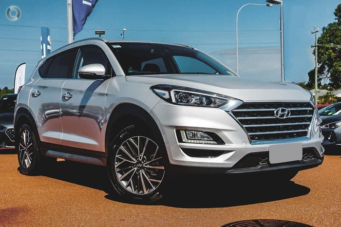 2020 Hyundai Tucson Elite TL3 MY21 4X4 On Demand Platinum Silver