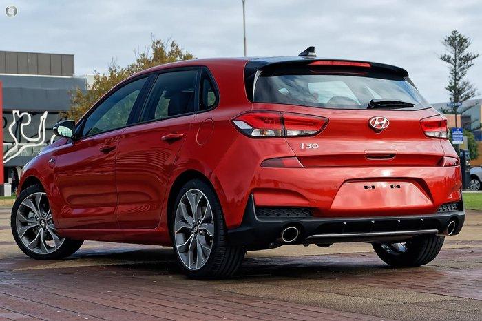 2020 Hyundai i30 N Line Premium PD.V4 MY21 Lava Orange