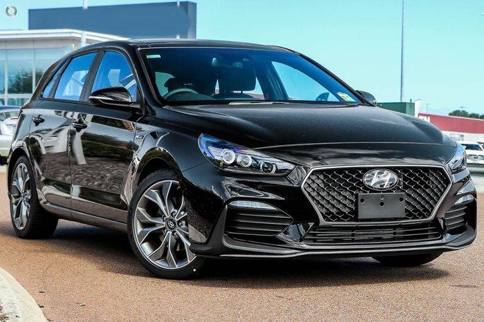 2020 Hyundai i30 N Line Premium PD.3 MY20 Phantom Black
