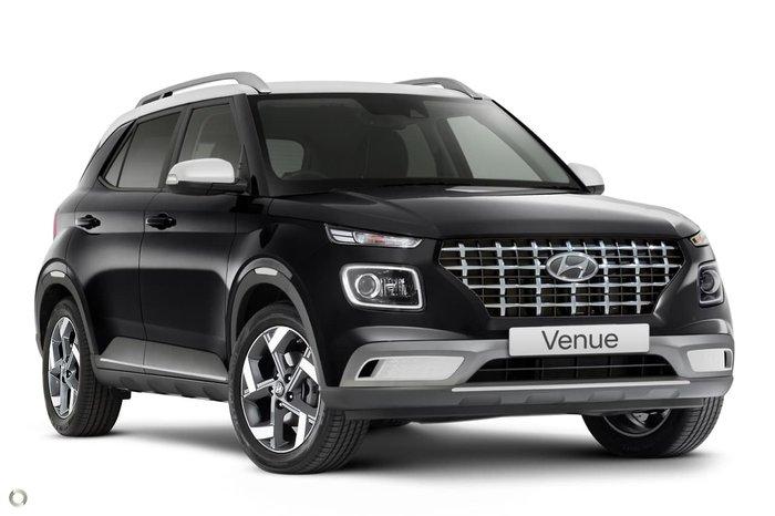 2020 Hyundai Venue Elite QX.2 MY20 Phantom Black