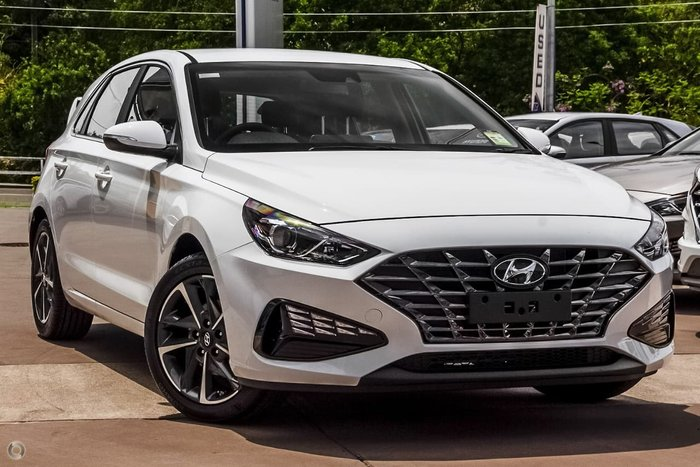 2020 Hyundai i30 Elite PD.V4 MY21 Polar White