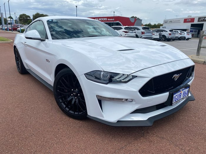 2018 Ford Mustang FN MY18 White