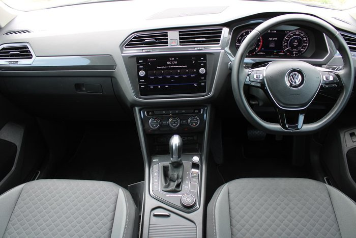 2018 Volkswagen Tiguan 132TSI Comfortline 5N MY19 Four Wheel Drive Grey