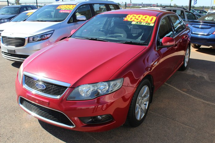 2008 Ford Falcon G6 FG Red