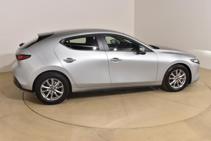 2019 Mazda 3 G20 Pure BP Series Sonic Silver