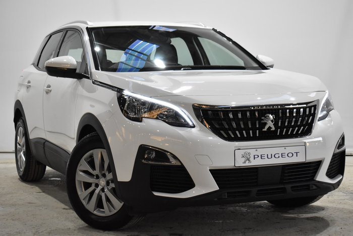 2019 Peugeot 3008 Active P84 MY19 Bianca White