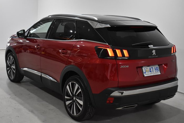 2020 Peugeot 3008 GT Line P84 MY20 Ultimate Red
