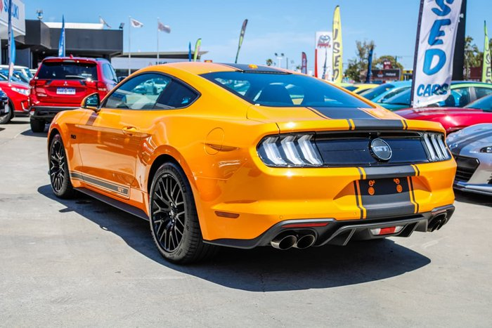 2018 Ford Mustang GT FN MY18 Yellow