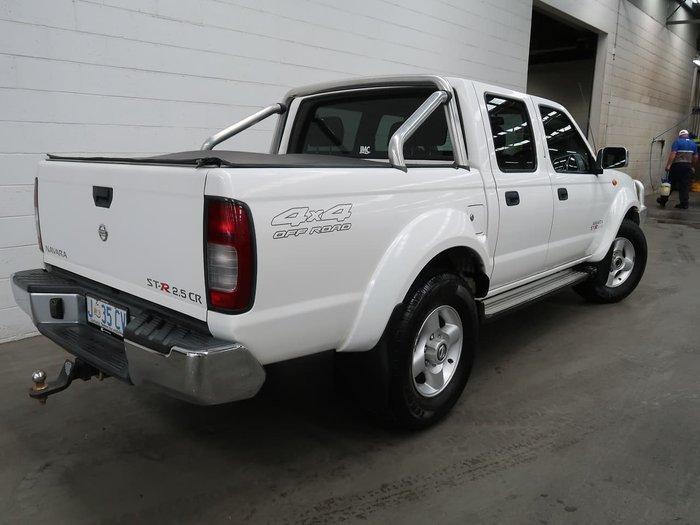2009 Nissan Navara ST-R D22 MY09 4X4 White