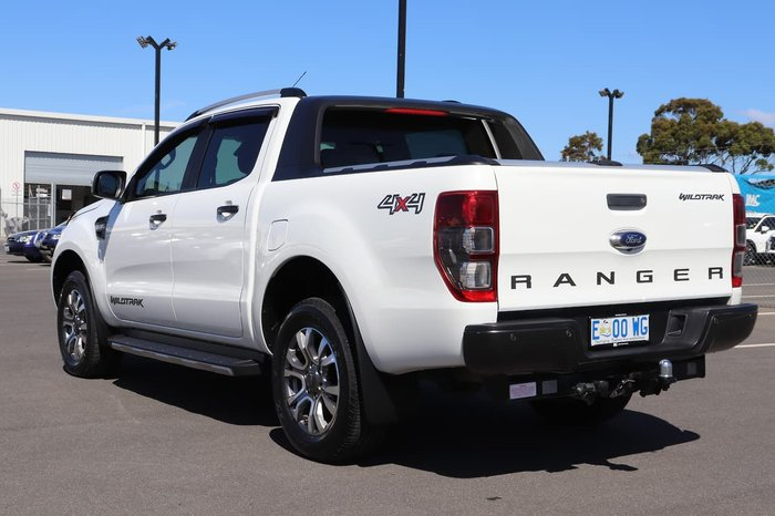 2015 Ford Ranger Wildtrak PX MkII 4X4 Dual Range White