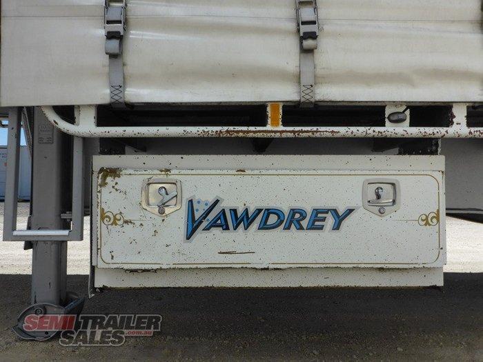 2011 Vawdrey Semi Curtainsider With Mezz