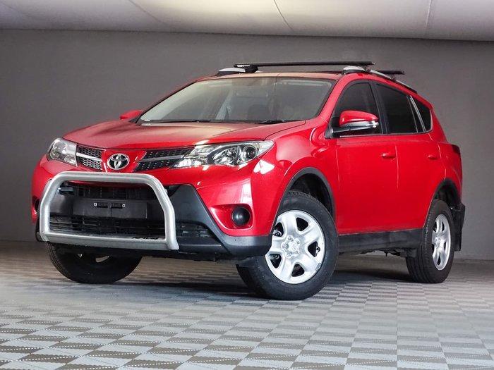 2015 Toyota RAV4 GX ZSA42R MY14 Red