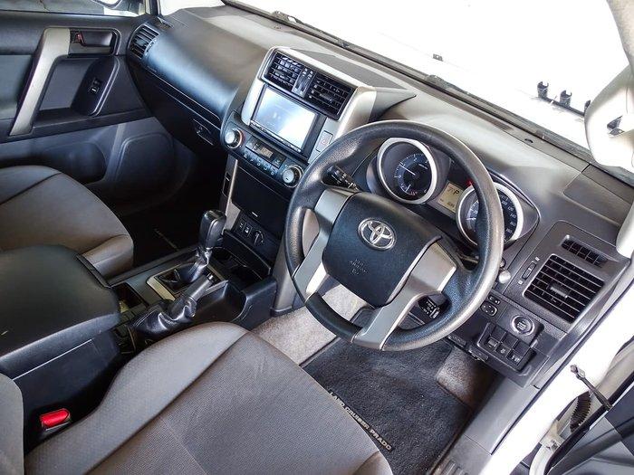 2012 Toyota Landcruiser Prado GX KDJ150R 4X4 Constant White