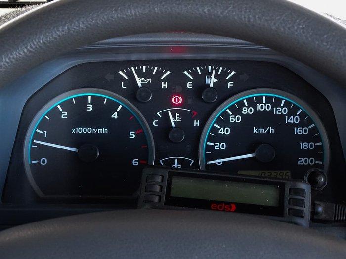 2014 Toyota Landcruiser GXL VDJ76R 4X4 Dual Range White