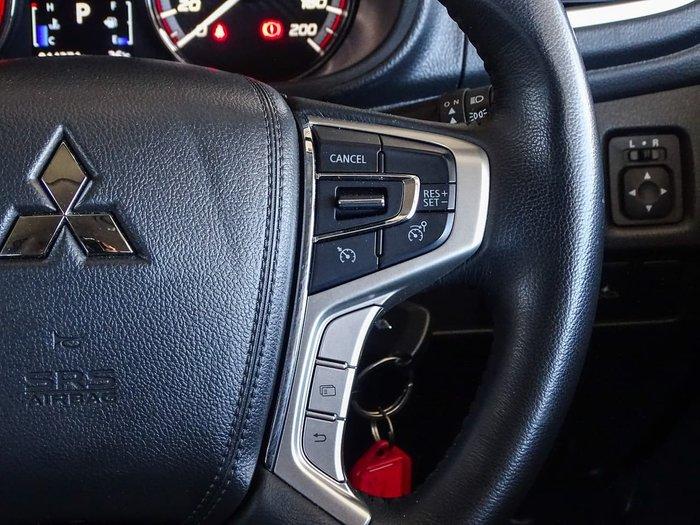 2020 Mitsubishi Triton GLX MR MY21 4X4 Dual Range Grey