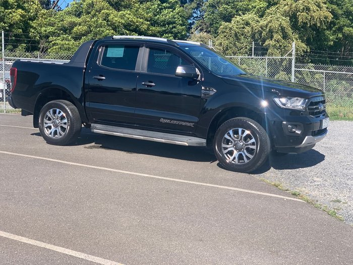 2018 Ford Ranger Wildtrak PX MkIII MY19 4X4 Dual Range Black