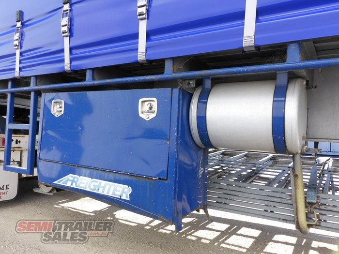 2012 Maxitrans B/D Combination Curtainsider B Double Set