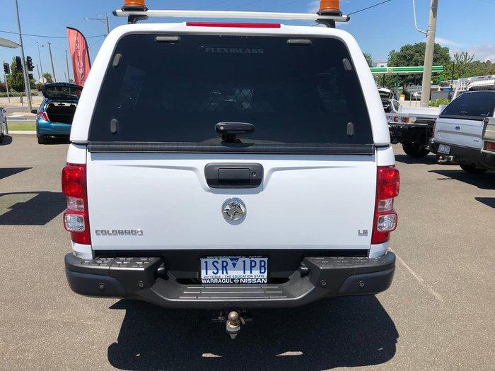 2017 Holden Colorado LS RG MY18 4X4 Dual Range White