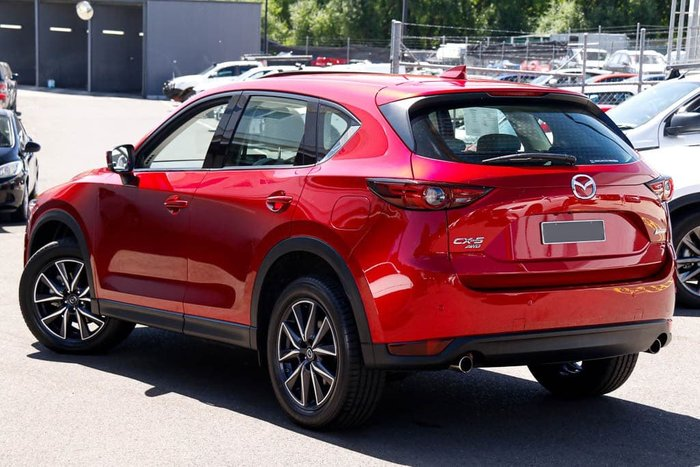 2019 Mazda CX-5 GT KF Series 4X4 On Demand Soul Red Crystal