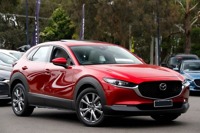 2019 Mazda CX-30 G25 Astina DM Series Soul Red Crystal