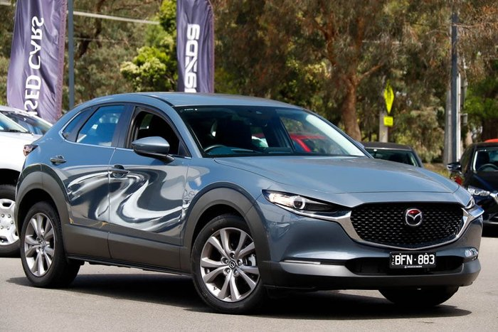2019 Mazda CX-30 G20 Evolve DM Series Polymetal Grey