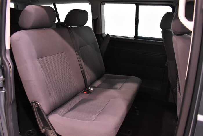 2009 Volkswagen Transporter Crewvan T5 MY09 Silver