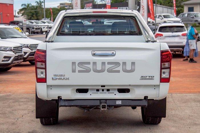 2017 Isuzu D-MAX SX MY17 4X4 Dual Range White