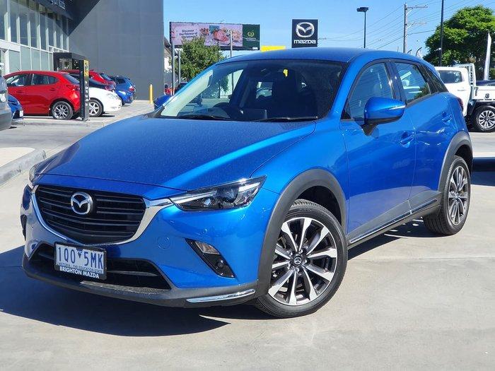 2019 Mazda CX-3 sTouring DK Blue